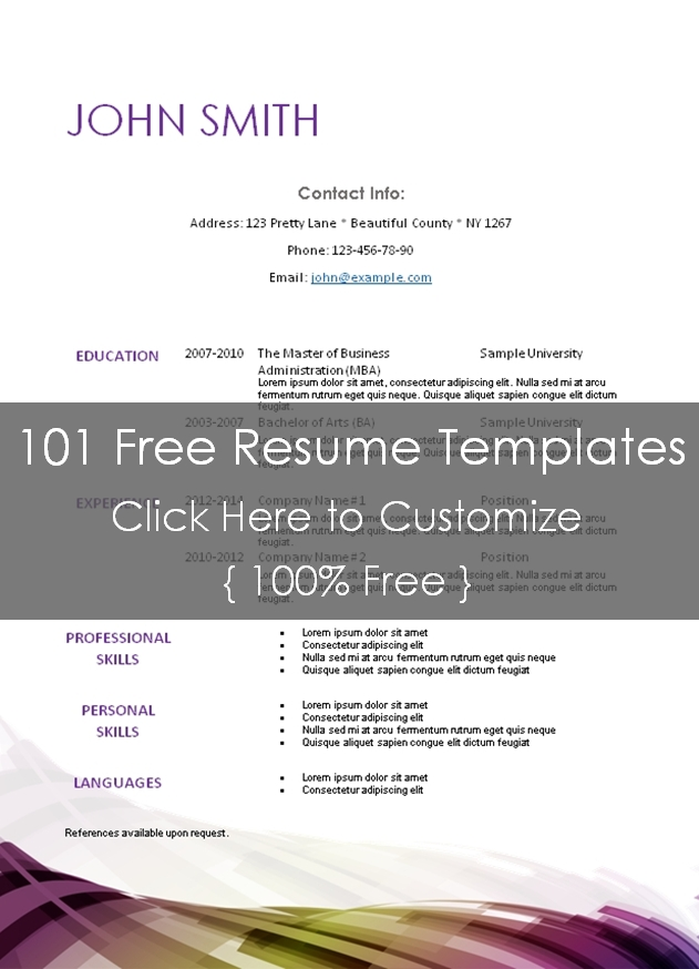 resume templates that can be edited 28 images resume
