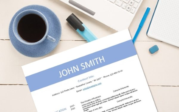 free printable resume templates instant download