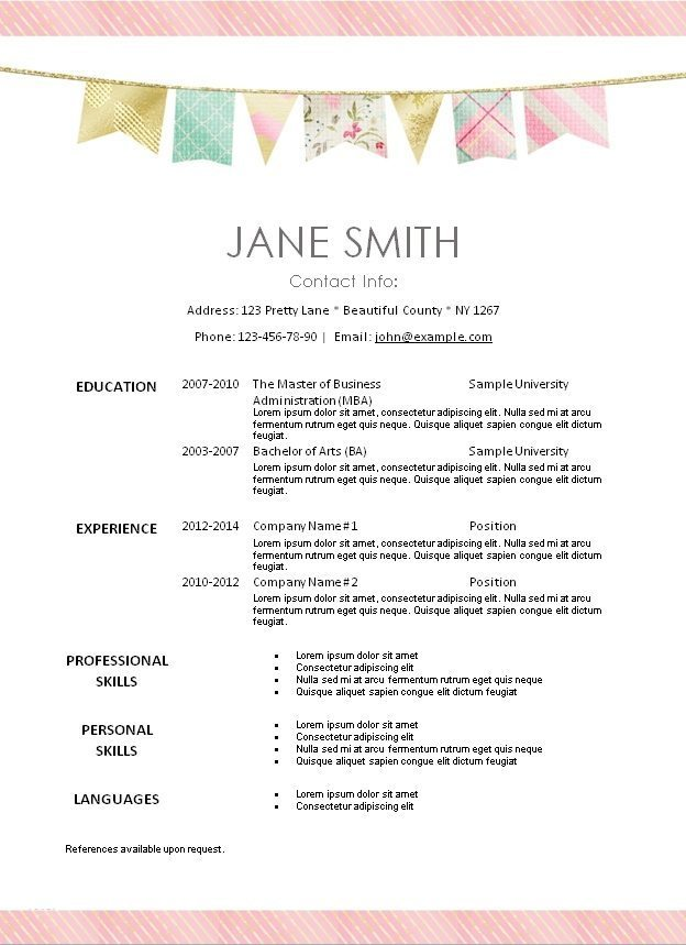 Best Free Resume Templates  Psd Ai Doc Best  Resume