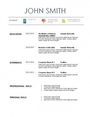 basic resume writing 101 28 images simple resume